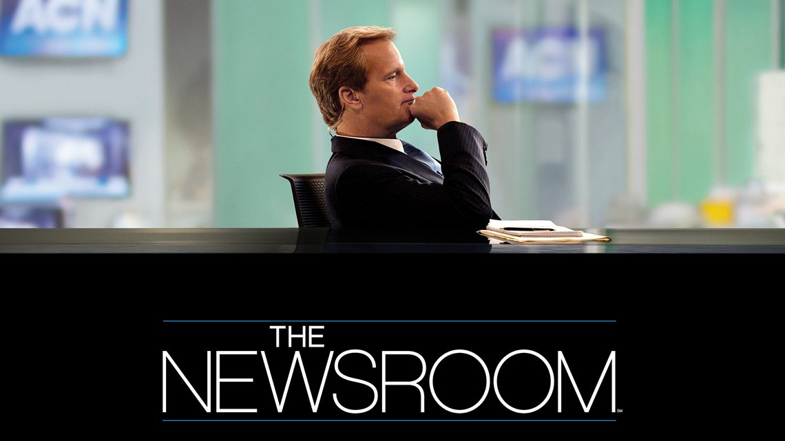 Serial HBO Newsroom. Materiały promocyjne.