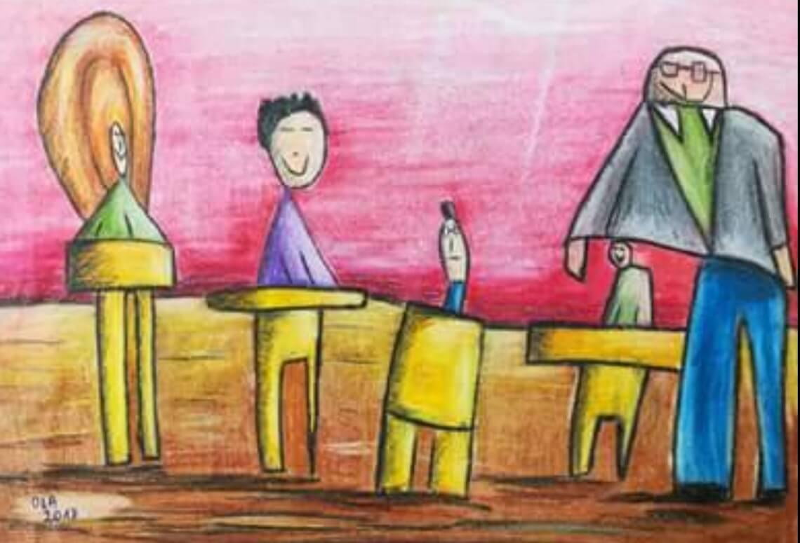 Rysunek Oli Leśnik
