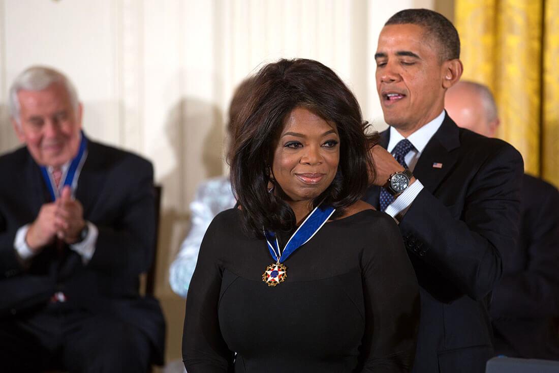 Oprah Winfrey i Barack Obama. Fot. Wikipedia Commons, CC