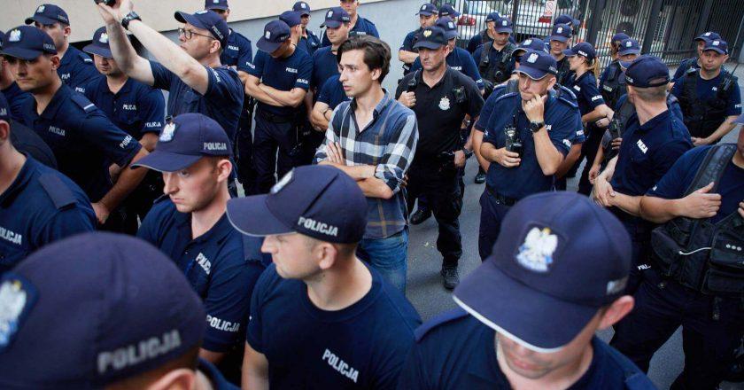 Protesty pod Sejmem. Fot Tomas Rafa