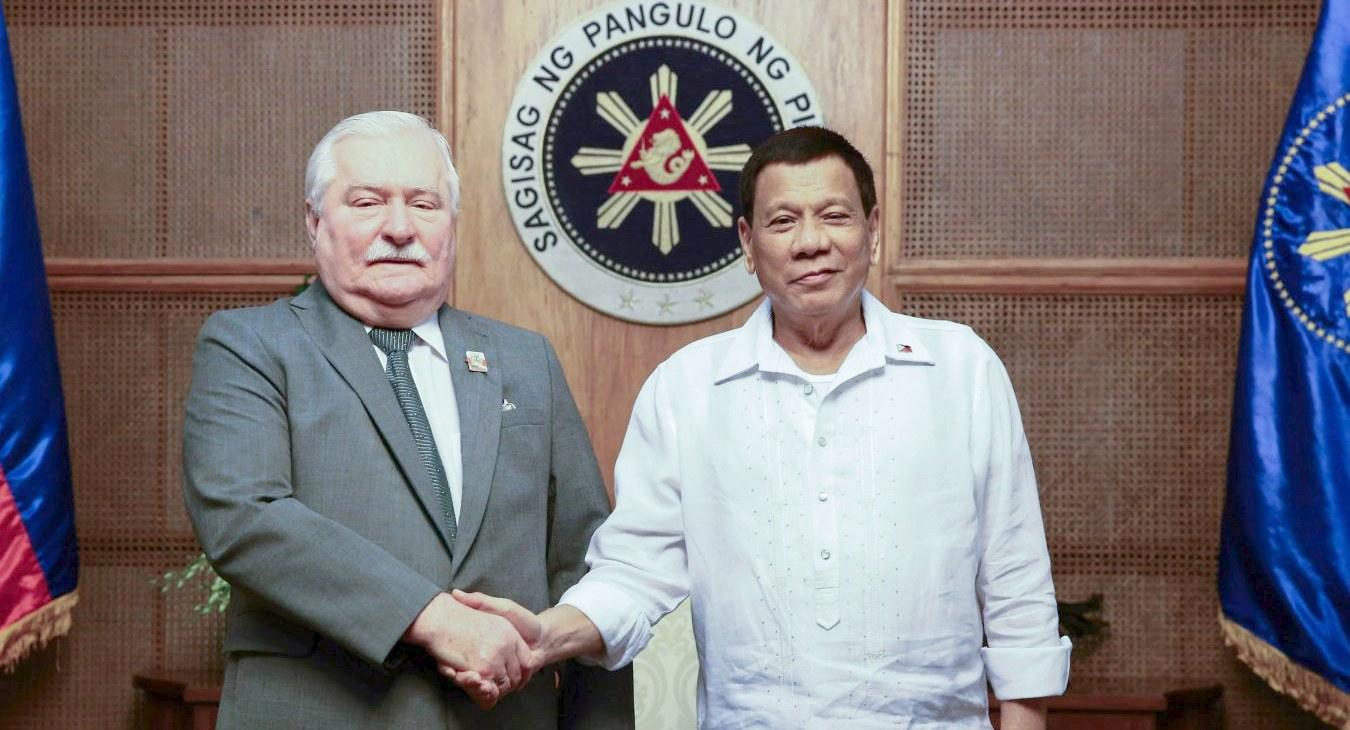 Wałęsa, Duterte