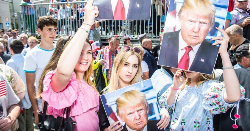 Trump w Polsce