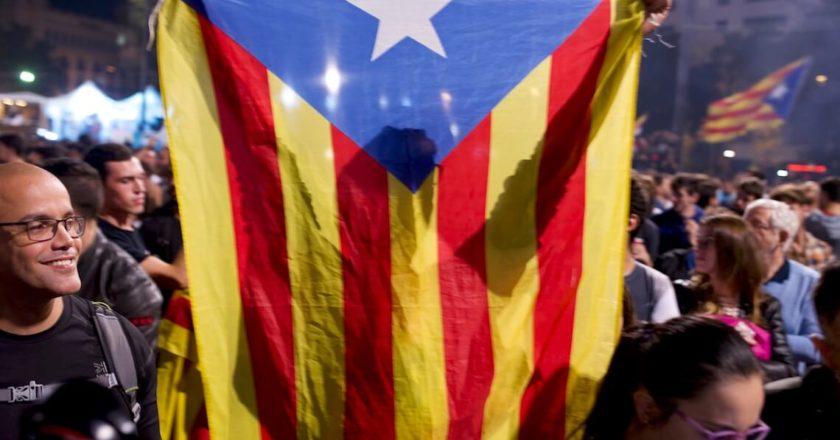 Referendum niepodległościowe, Katalonia, 2017 rok. Fot. Jakub Szafrański
