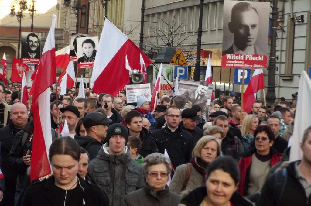Marsz pamięci żołnierzy wyklętych, Kraków 2014