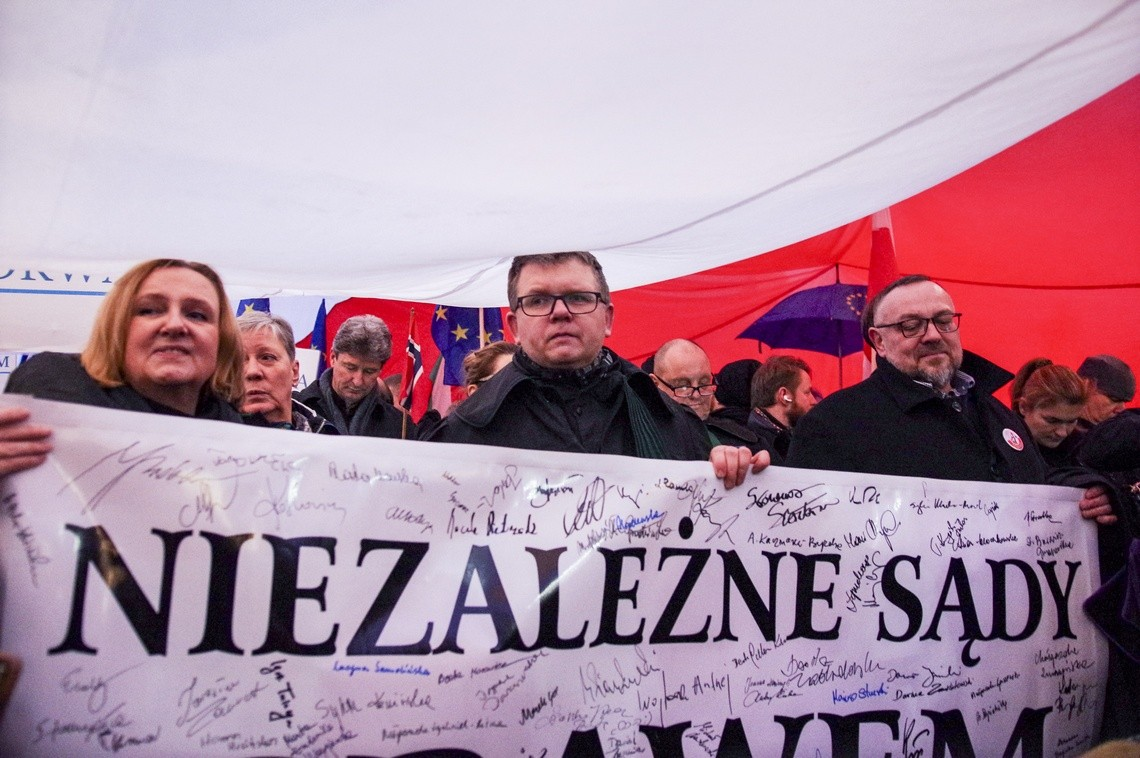 Marsz Tysiąca Tóg, Warszawa 11.01.2020. Fot: Monika Bryk