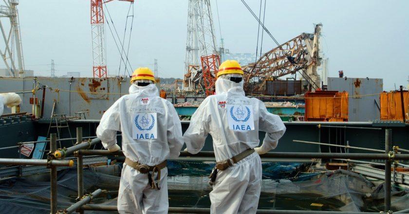 Elektrownia atomowa Fukushima Daiichi po katastrofie. Fot. Greg Webb / IAEA