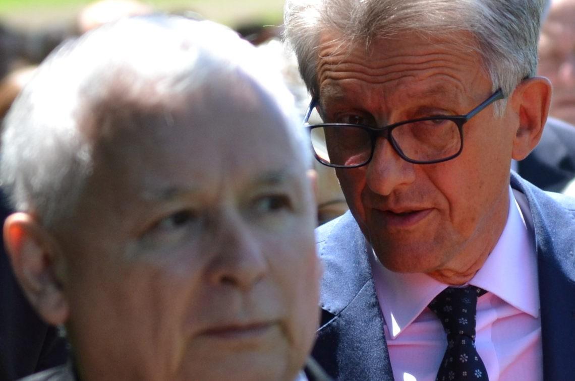 Jarosław Kaczyński, Stanisław Piotrowicz. Fot. Silar, commons wikimedia
