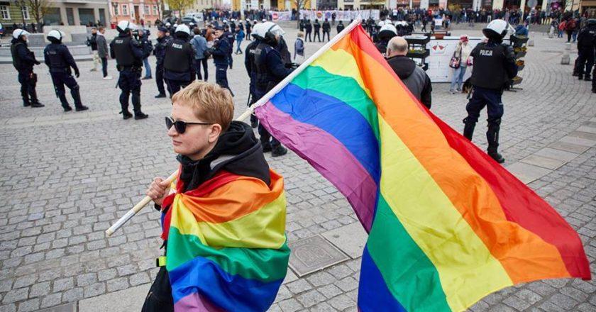 Marsz Równości w Gnieźnie. Fot. Tomas Rafa