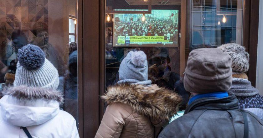 Pogrzeb prezydenta Pawła Adamowicza. Fot. Jakub Szafrański