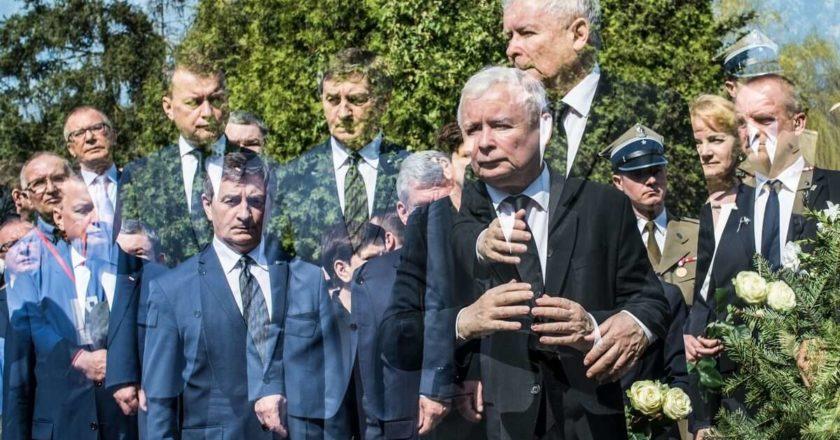 Jarosław Kaczyński. Fot. Jakub Szafrański