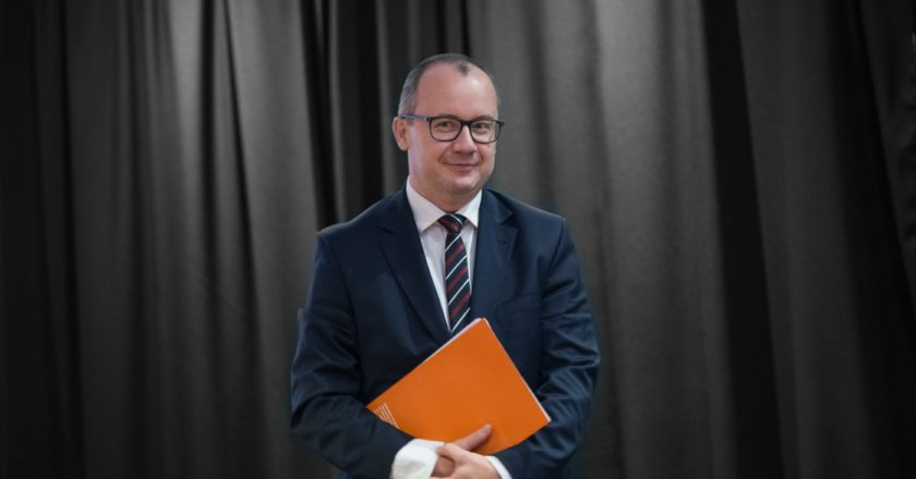 Adam Bodnar. Fot. Jakub Szafrański