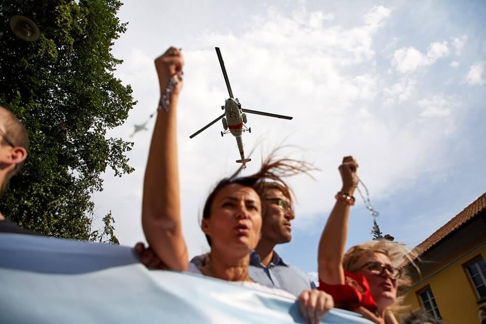 Marsz Równości w Białymstoku. Fot. Tomas Rafa