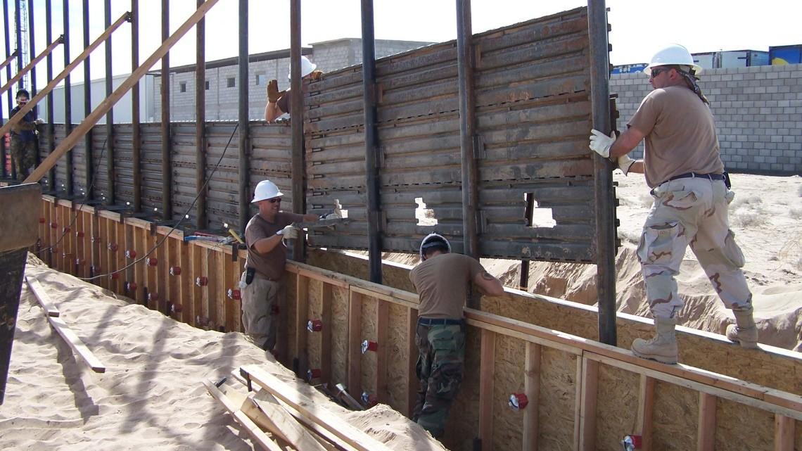 Budowa muru na granicy z Meksykiem