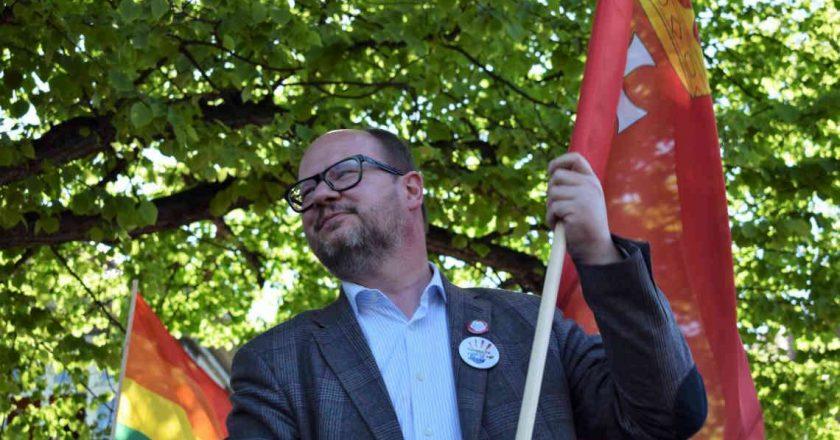 Paweł Adamowicz. Fot. Pamela Palma Zapata