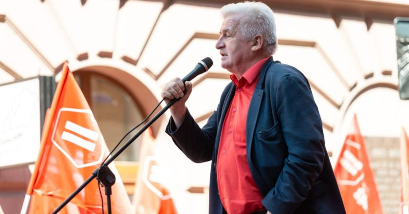 Piotr Ikonowicz. Fot. FB @partiarazem