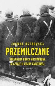 """Okładka książki """"Przemilczane"""" Joanny Ostrowskiej"""