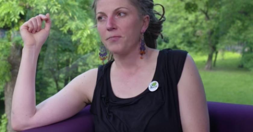 Katarzyna Jagiełło z Greenpeace Polska.