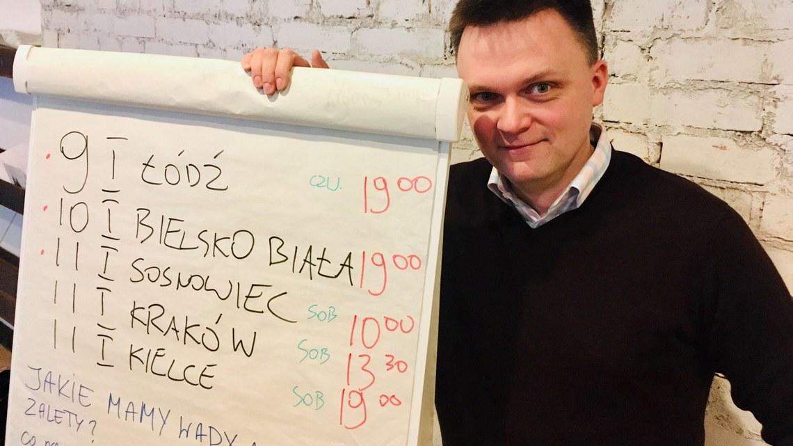 Szymon Hołownia. Fot. facebook.com/szymonholowniaoficjalny