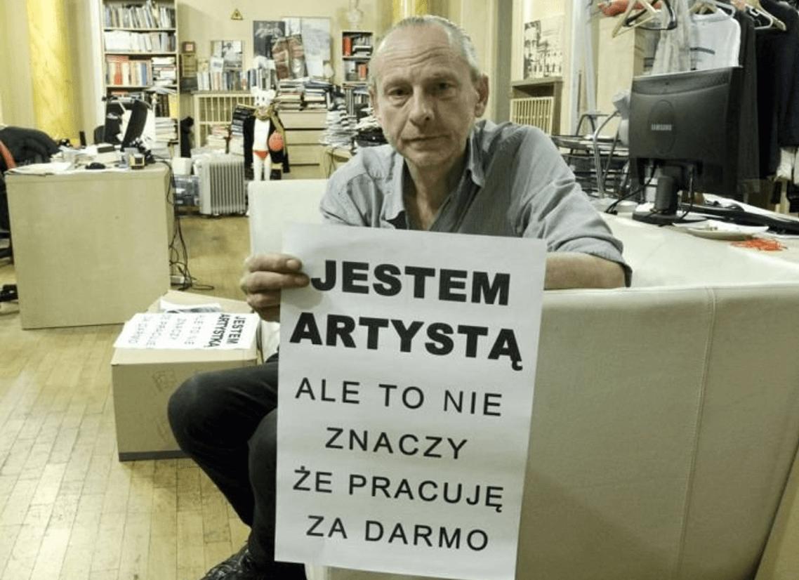 Zbigniew-Libera-strajk-artystow