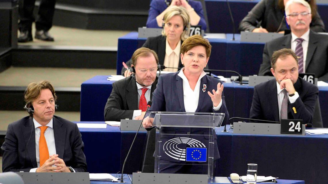 Beata Szydlo Parlament Europejski