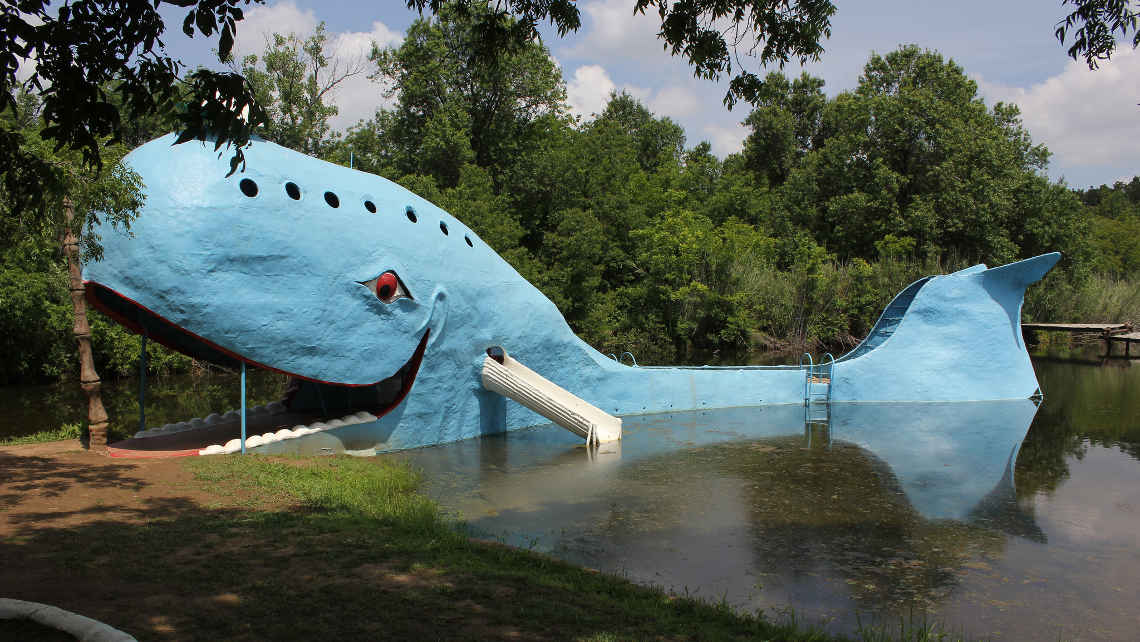 Niebieski wieloryb