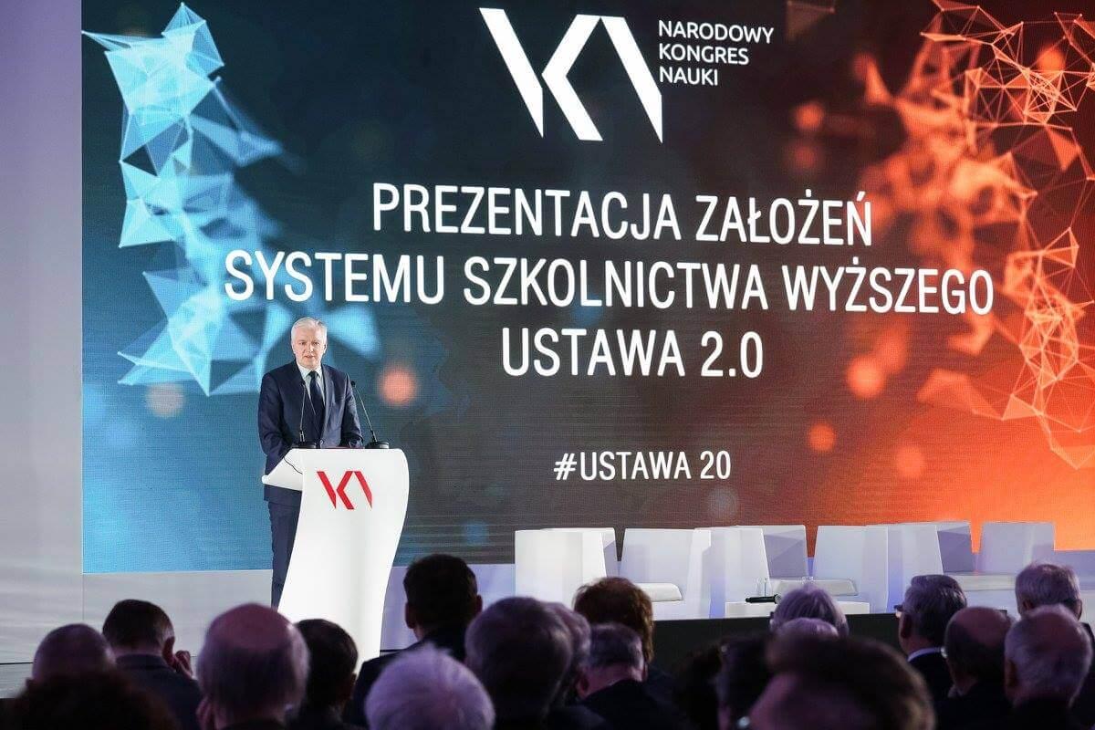 Jarosław Gowin. Fot. Ministerstwo Nauki i Szkolnictwa Wyższego, Facebook.com