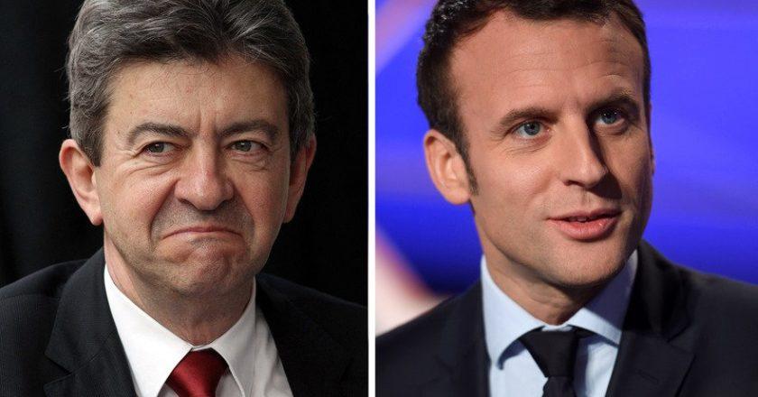 Melenchon-Macron