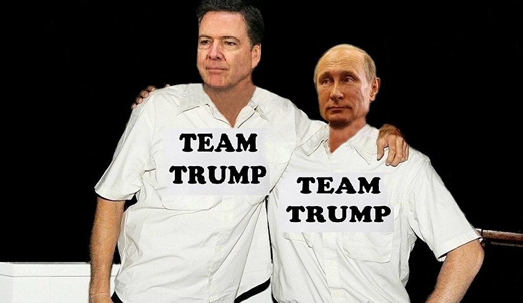 Comey, Putin