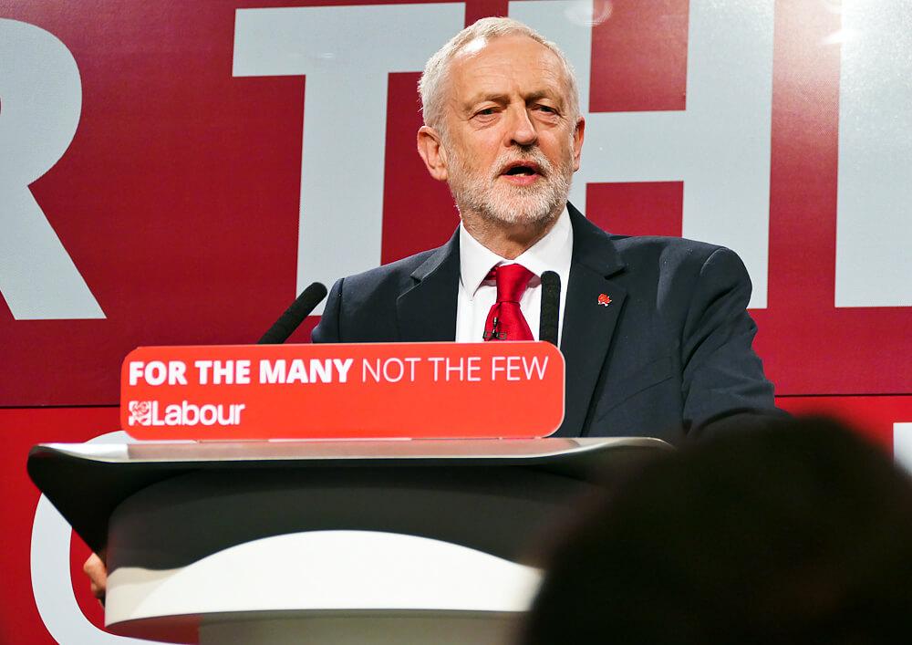 Jeremy Corbyn. Fot. Sophie Brown, Wikimedia Commons
