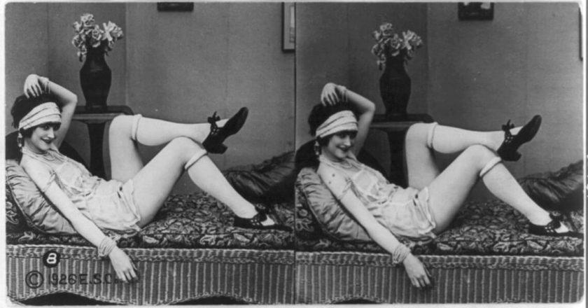 """A high life girl"", ok. 1926 roku. Fot. Library of Congress."