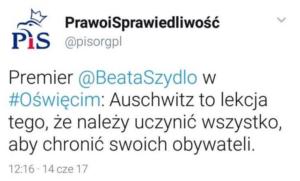 tweet-oswiecim-pis