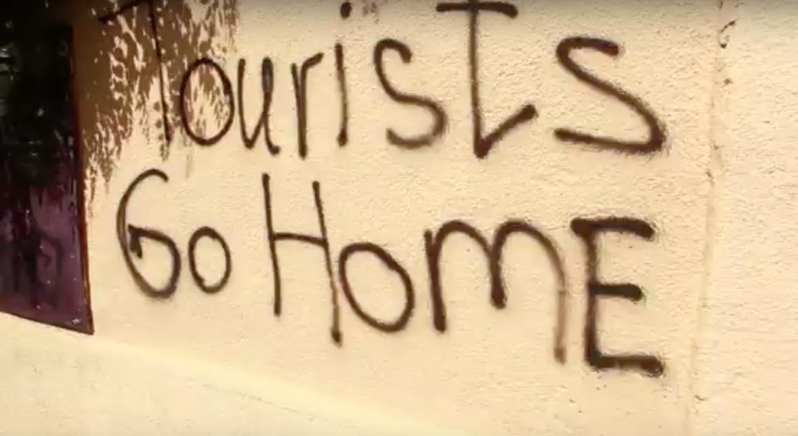 Tourists, go home