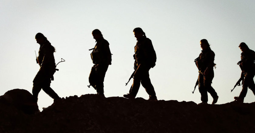 Partyzanci YPG, Kurdystan. Fot. Kurdishstruggle, Flickr.com