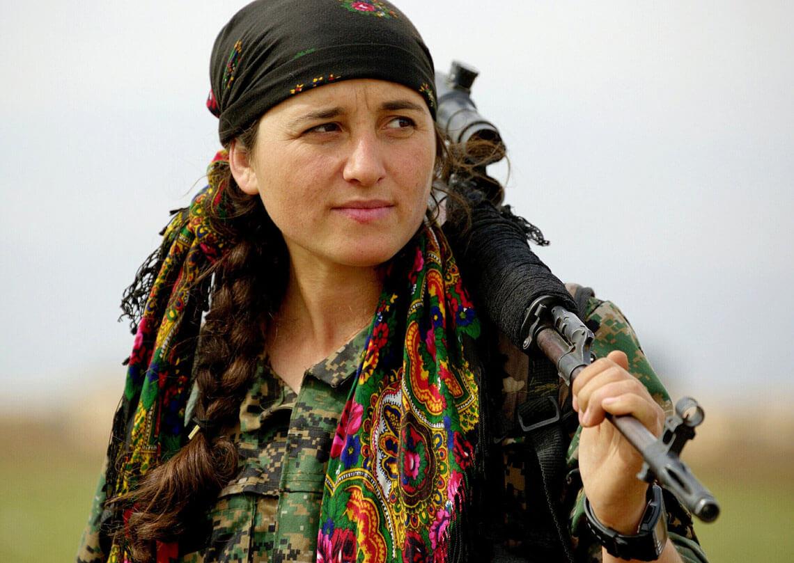 Partyzanci Powszechnej Jednostki Ochrony YPG, Kurdystan. Fot. Kurdishstruggle, Flickr.com