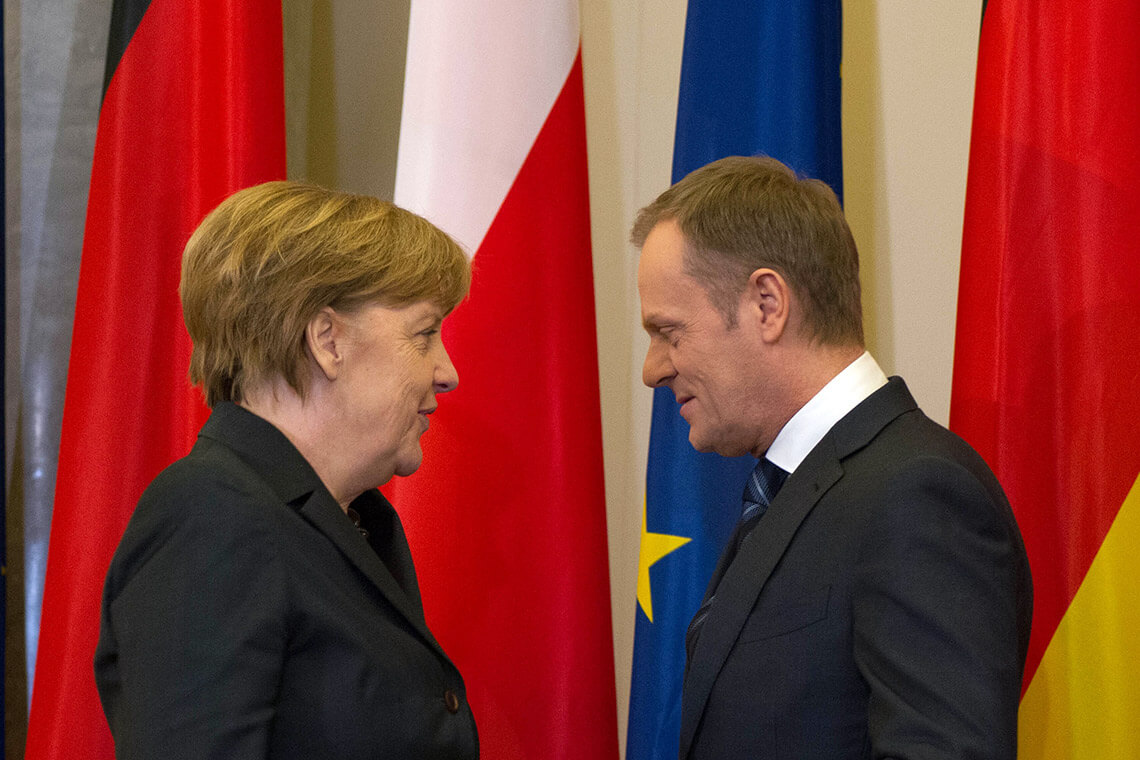 Spotkanie Tusk-Merkel 12.03.2014