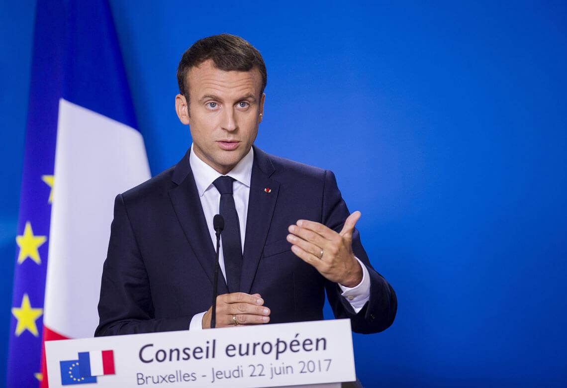 Emmanuel Macron. Fot. European Council, Flickr.com
