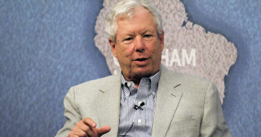 Richard Thaler. Laureat nagrody Nobla w dziedzinie ekonomii. Fot. Chatham House, Flickr.com