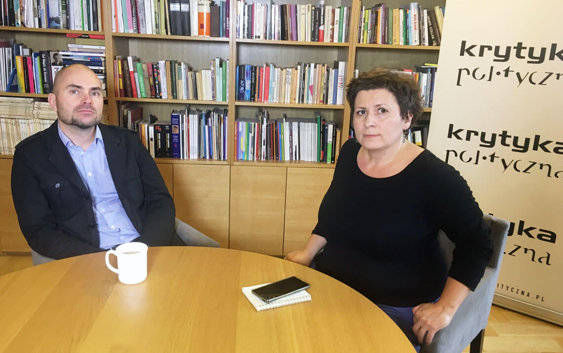 Tomasz Luterek i Agata Diduszko-Zyglewska.