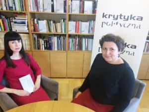 Anna Wiatr i Agata Diduszko-Zyglewska. Fot. Krytyka Polityczna