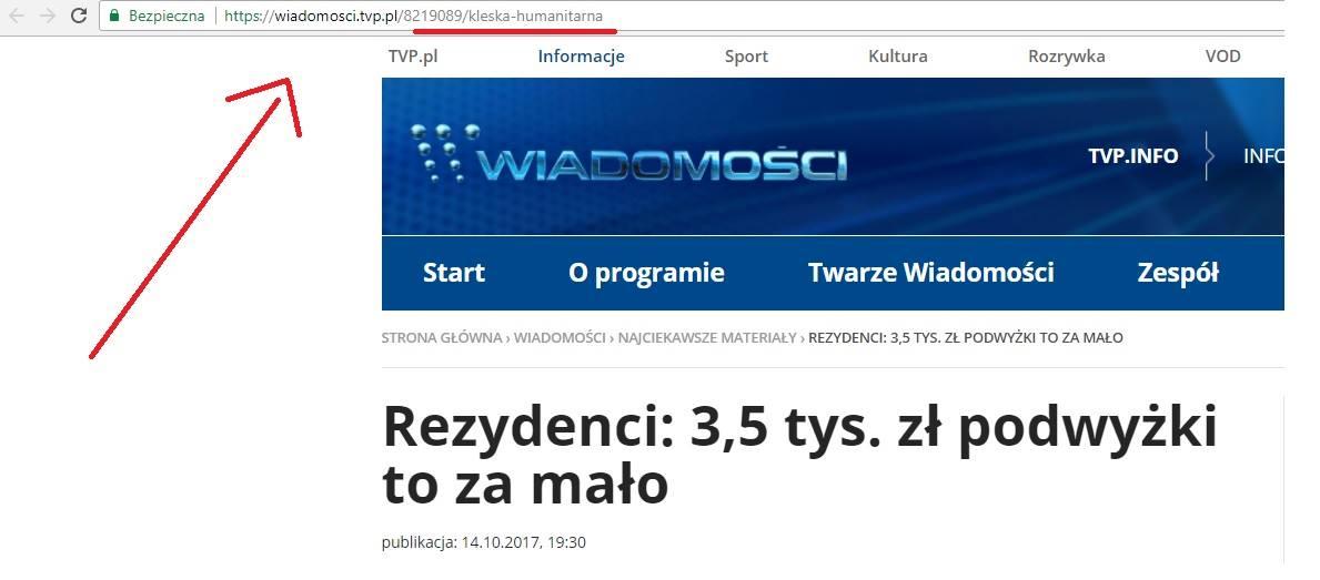 TVP Info, screen