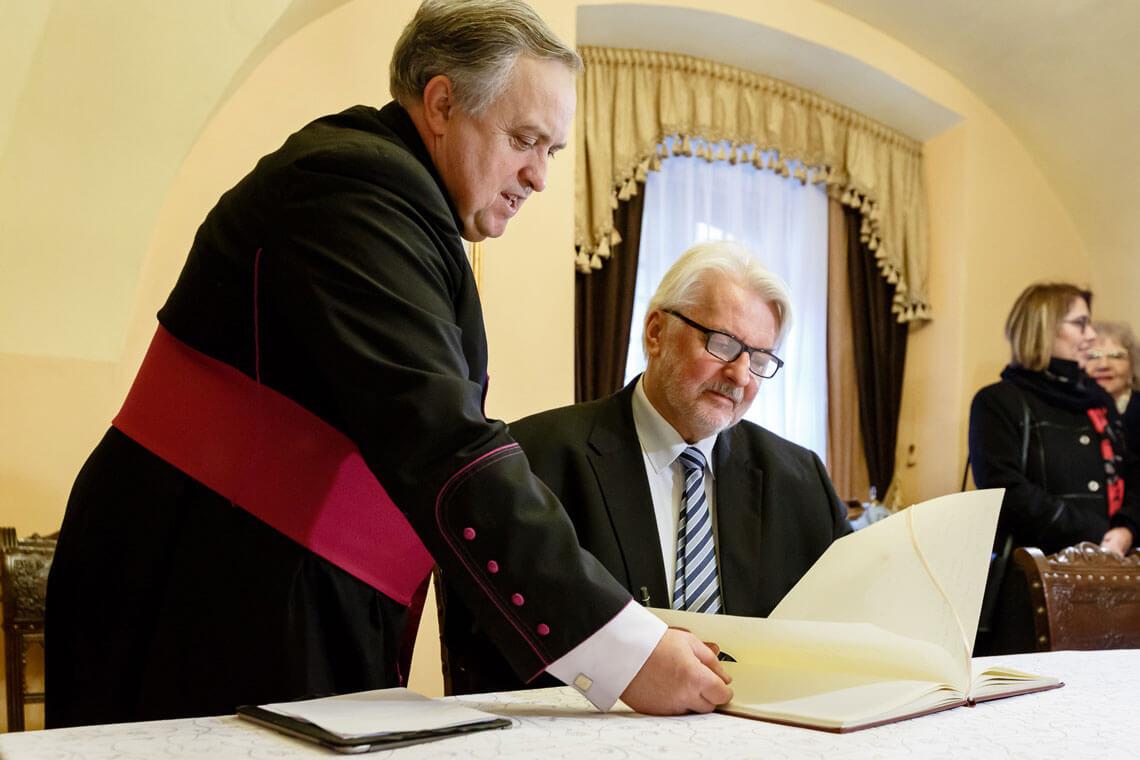 Drugi dzień wizyty ministra Witolda Waszczykowskiego we Lwowie. Fot.: Sebastian Indra, MSZ, Flickr.com
