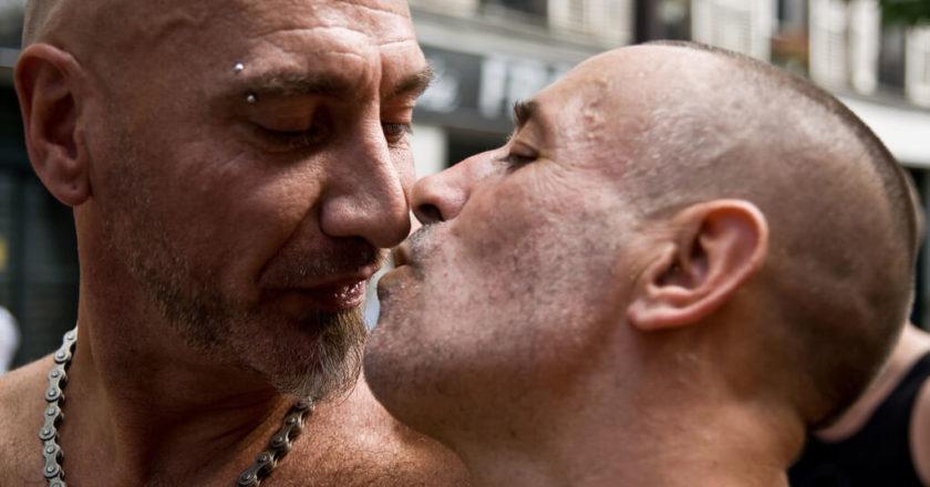 Lesbian & Gay Pride w Paryżu, 2008 rok. Fot. philippe leroyer