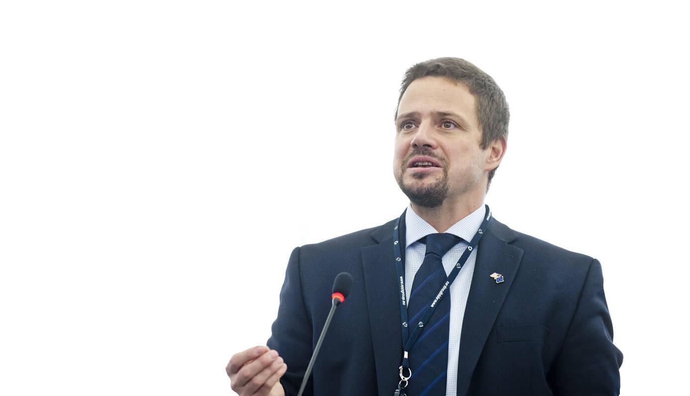 Rafał Trzaskowski. Fot. Parlament Europejski