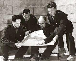 Izraelska delegacja w trakcie Porozumień z Rodos, 1949. Fot. Knesset, CC