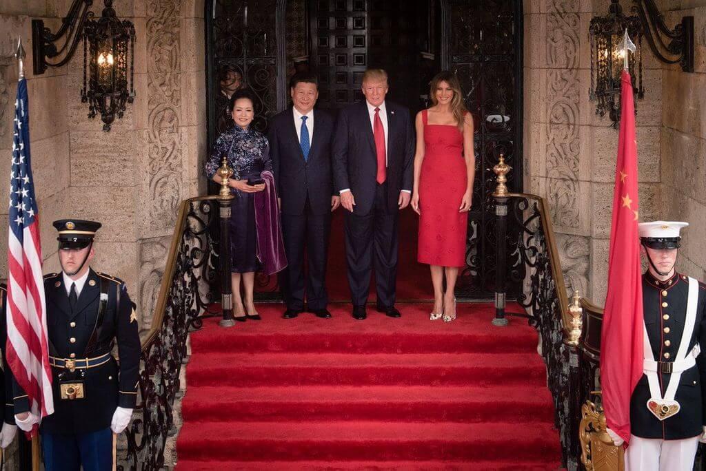 Wizyta Donalda Trumpa w Chinach, 2017