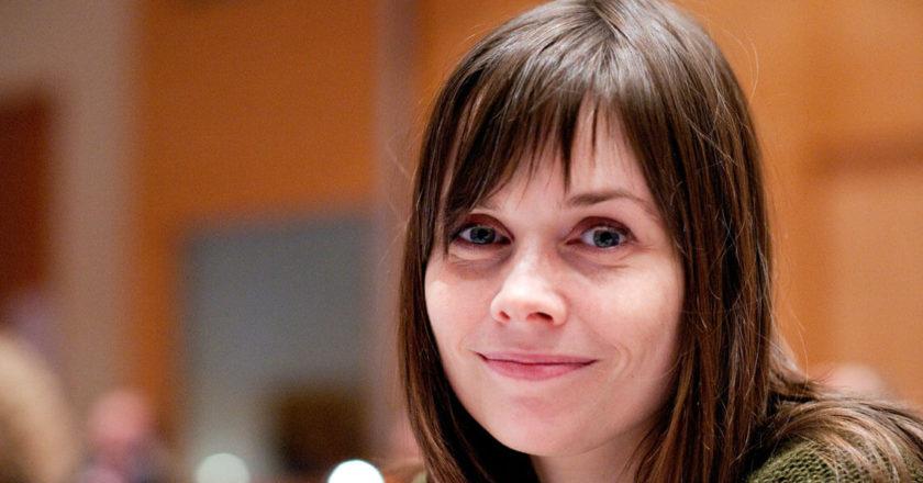 Katrín Jakobsdóttir, islandzka polityk, przewodnicząca Ruchu Zieloni-Lewica. Premier Islandii od listopada 2017. Fot. Johannes Jansson.