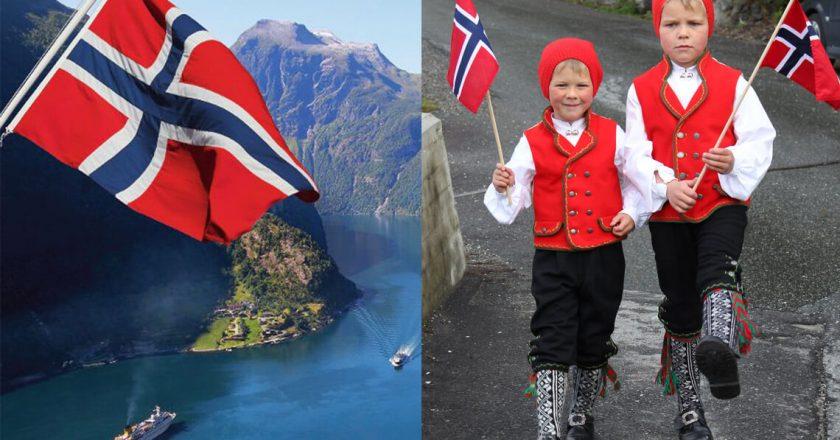 norwegia-dzieci