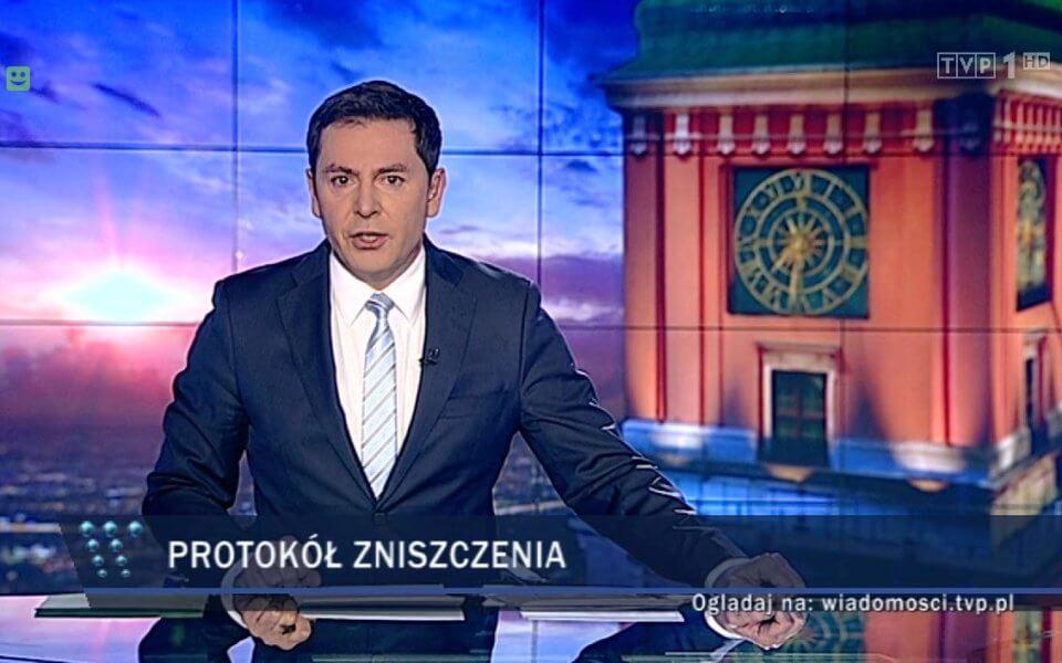 Fot. Kadr z Wiadomości TVP.