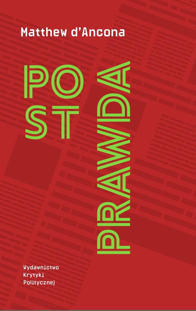 Matthew d'Ancona: Postprawda
