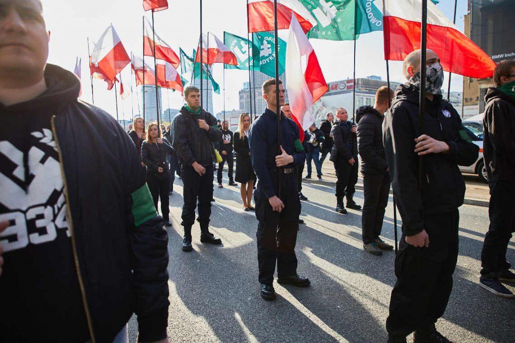 Marsz ONR w Warszawie 29 kwietnia 2017. Fot. Tomas Rafa
